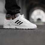 adidas zx flux white/core black