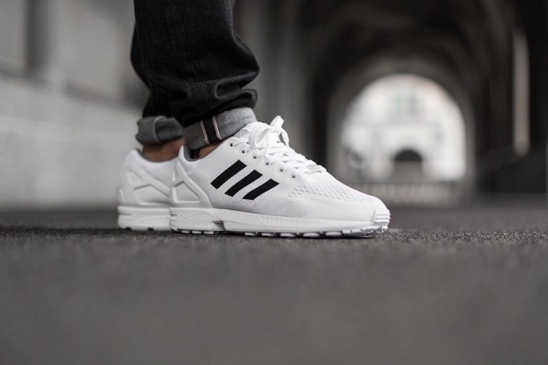 Adidas Flux White Black