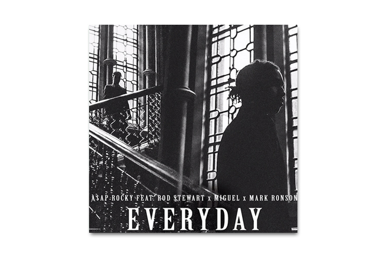A$AP Rocky feat Rod Stewart, Miguel et Mark Ronson – Everyday