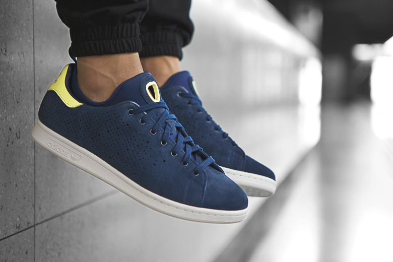 Stan Smith Gris Jaune