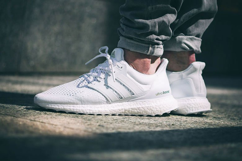 adidas ultra boost blanche