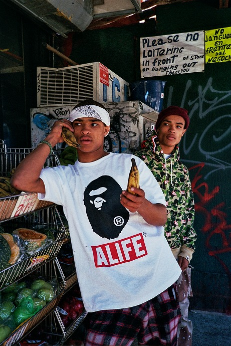 Une collaboration A Bathing Ape et Alife