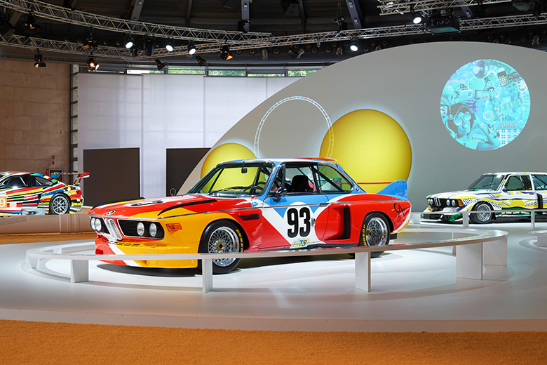 BMW célèbre les 40 ans d'Art Cars !