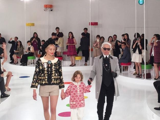 Chanel : Karlito présente sa collection croisière à Séoul !