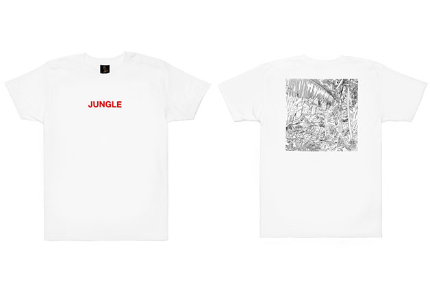 Drake : T-shirt Jungle Tour