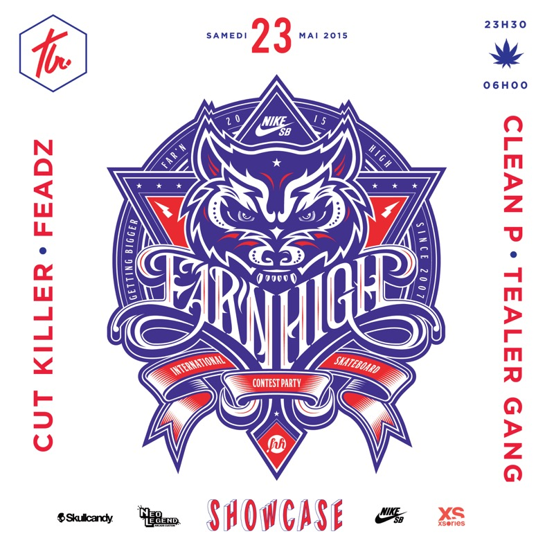 A gagner : 3×2 places pour la Far'N'High Pro Contest Party avec Tealer