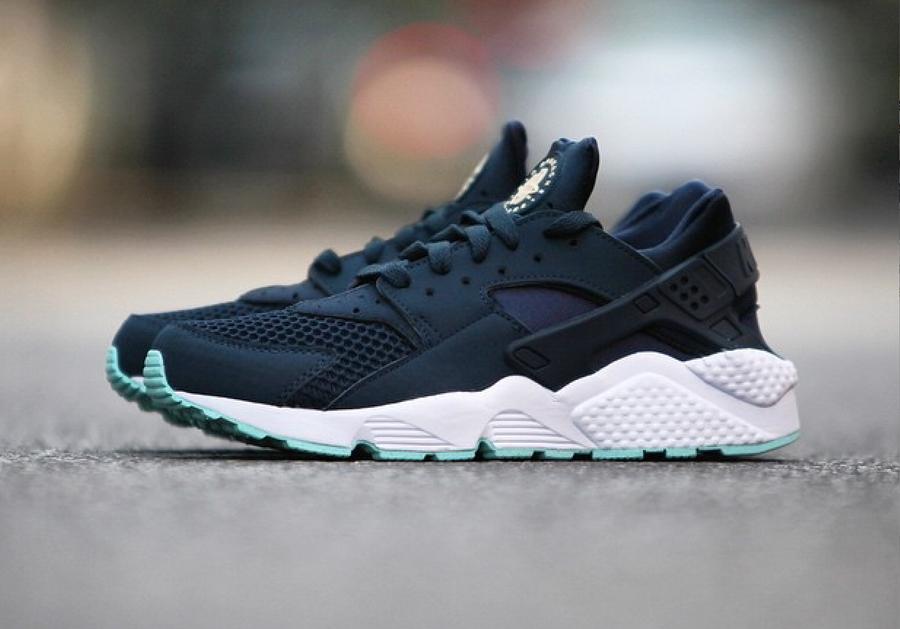 Nike Huarache Vert D'eau