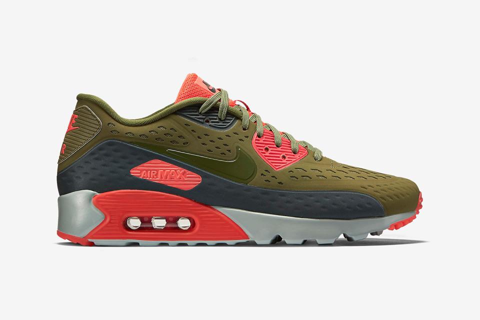 Nike air max 90 ultra breeze «Scenery Green»