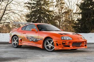 La Toyota de Paul Walker dans Fast and Furious vendue aux enchères