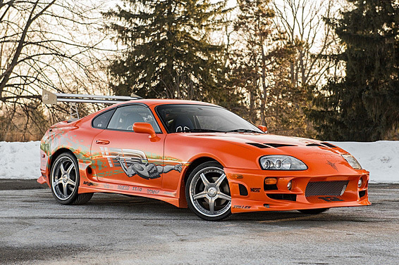 La Toyota Supra de Paul Walker dans Fast and Furious vendue aux enchères