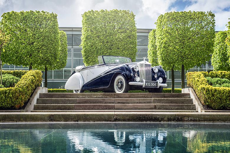 Rolls-Royce dévoile son nouveau modèle «Dawn»
