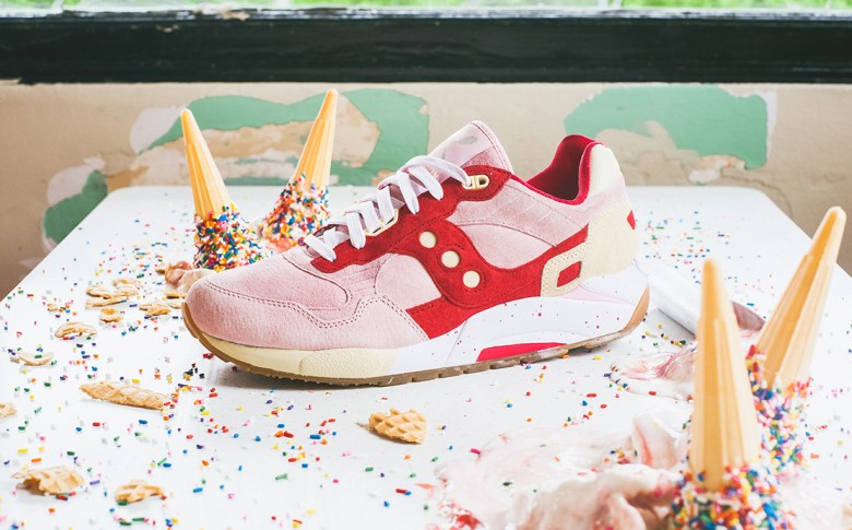 Saucony G9 Shadow 5 « Vanilla Strawberry »