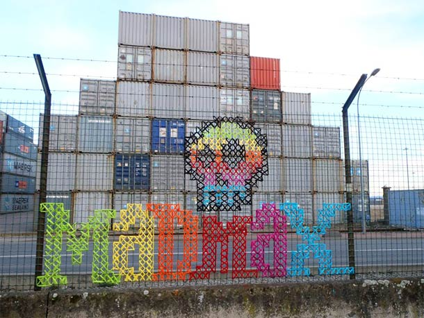 Urban X Stitch réveillent le point de croix !