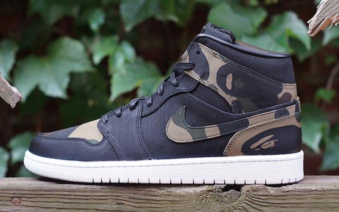 BAPE x Air Jordan 1 : la sneakers à 1500 dollars par JBF Customs