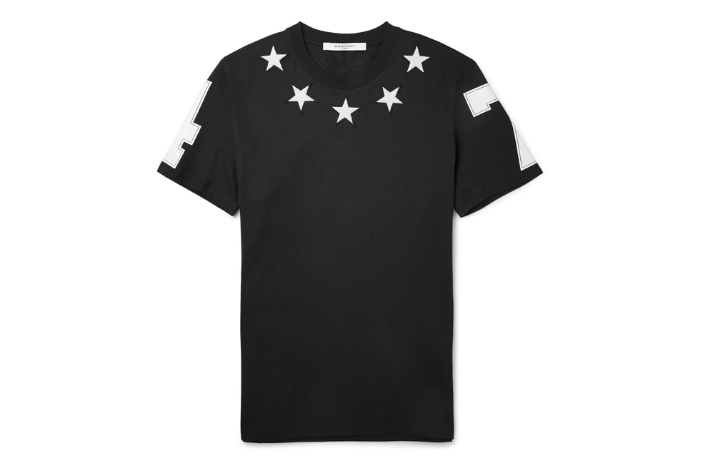 Givenchy présente son t-shirt Cuban Fit Star