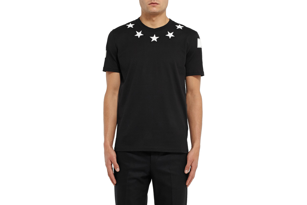 GIVENCHY CUBAN FIT STAR T-SHIRT