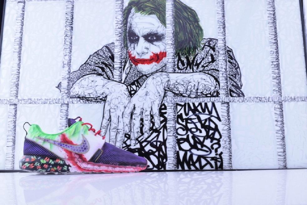 """Kickasso présente sa Nike Roshe Run """"Joker"""" Custom"""