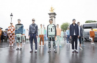 Kenzo-Printemps-2015 - fashion week