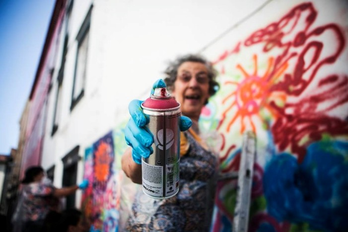 LATA 65 : quand les grands-mères se mettent au graffiti