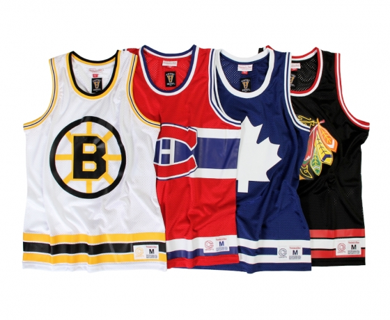 Concepts et Mitchell & Ness dévoilent la Collection « Original 6 »