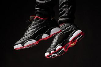 "Aperçu de la nouvelle Air Jordan 13 Retro Low ""Bred"""