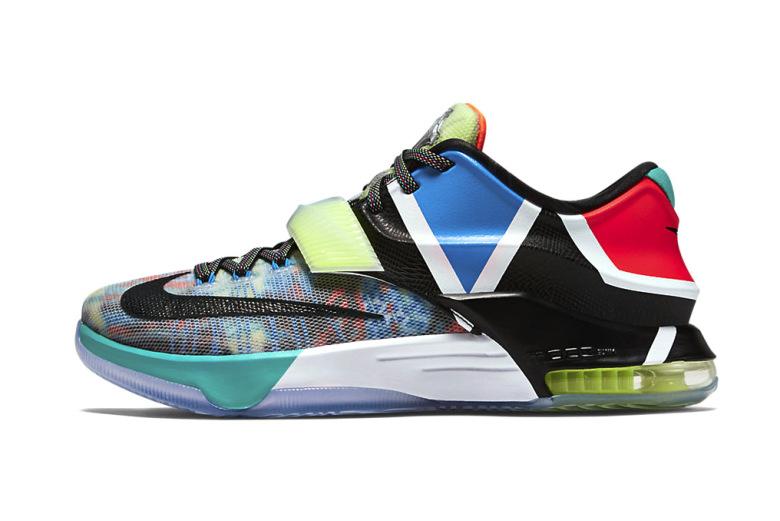 Aperçu de la nouvelle Nike KD 7 «What The»