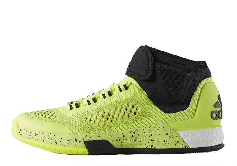 "adidas Crazylight Boost Mid ""Solar Yellow"""