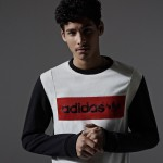 adidas originals vintage color blocking