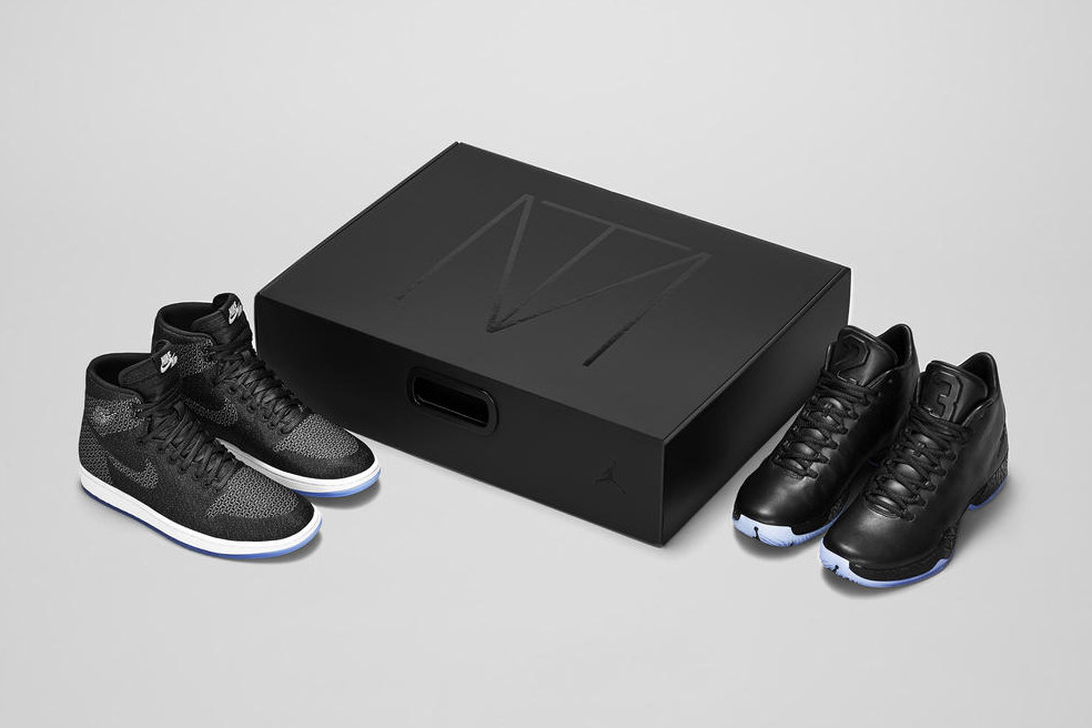 La tripple collab' de « boss » pour la Air Jordan MTM