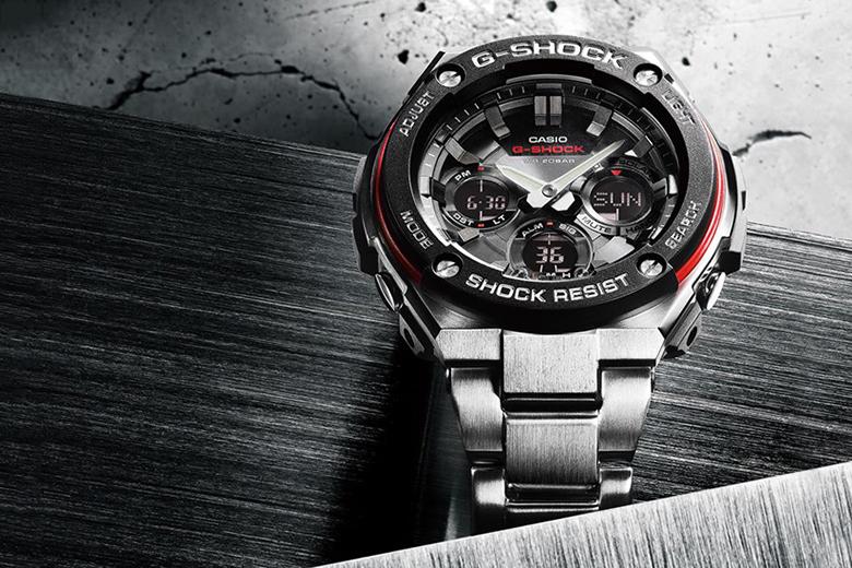 Découvrez la nouvelle Casio G-Shock G-Steel !