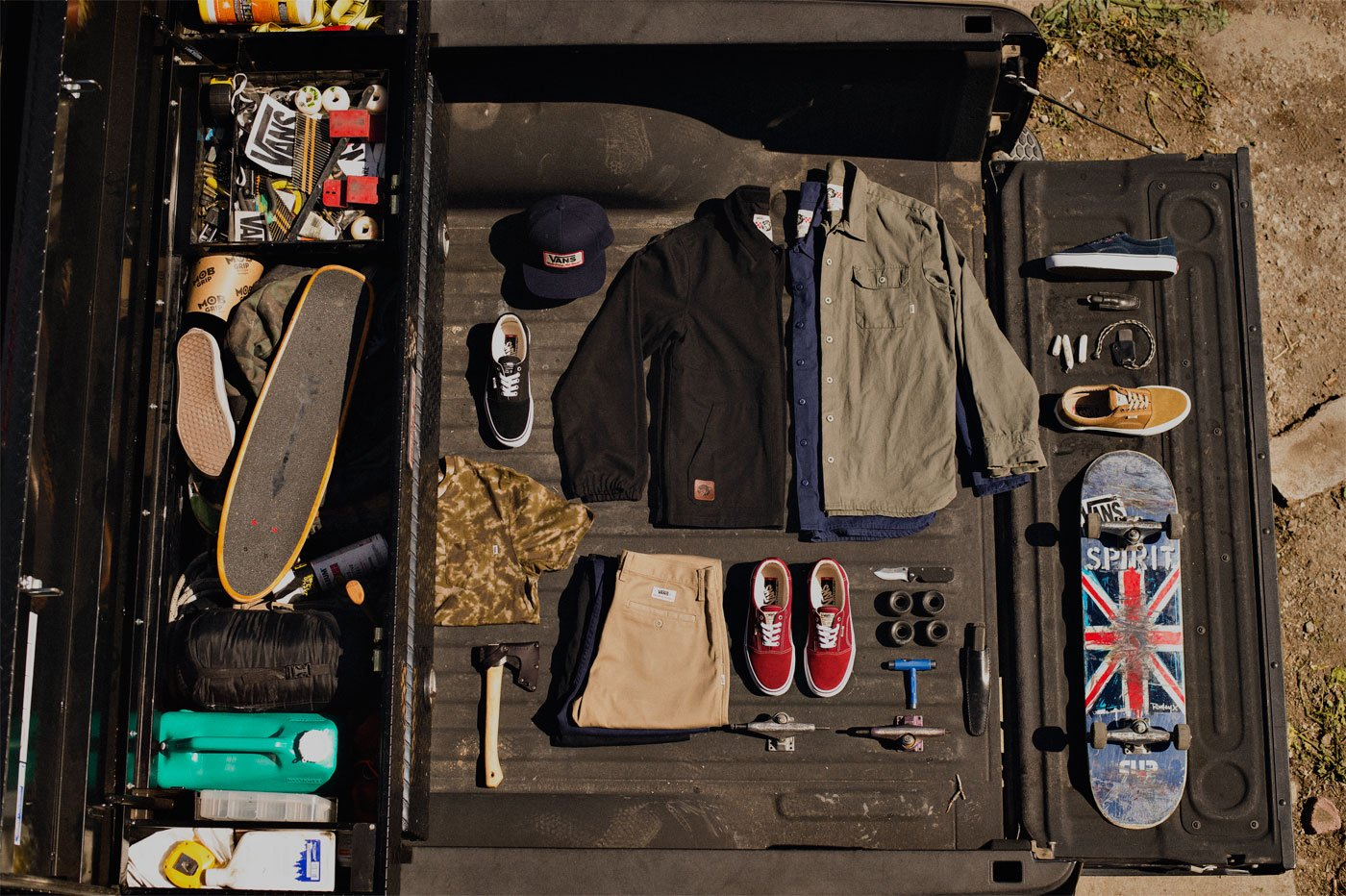 Back to basics avec la collection vans x geoff rowley
