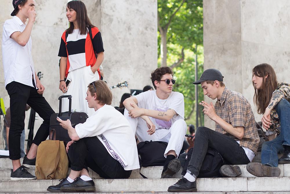 Street Style : au coeur de la fashion week parisienne pour lui