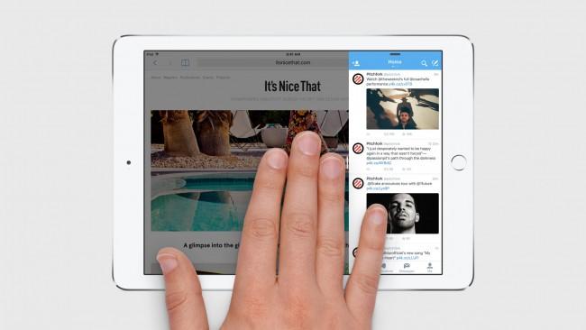 iPad Multitache