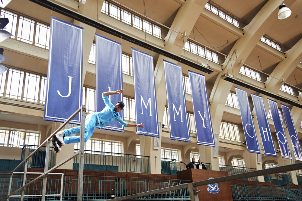 Jimmy Choo crée son skate park « Sporting Club » pour Londres !