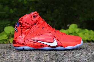 "La Nike Lebron 12 se voit dotée du coloris ""USA"" !"
