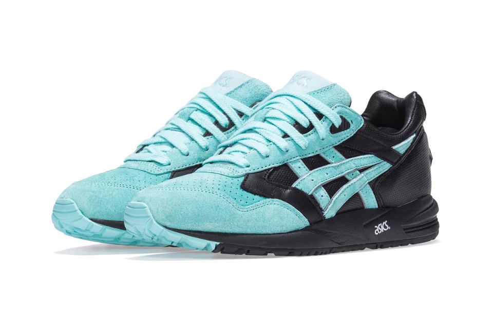 Asics x KITH x Diamond Supply co : le retour de la couleur « Tiffany »