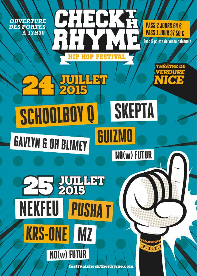 Gagnez vos places pour le festival Check The Rhyme à Nice