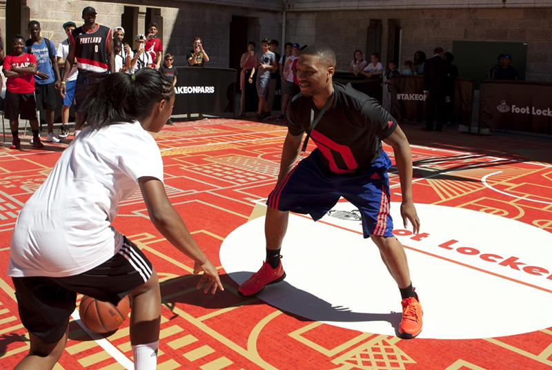 La Damian Lilliard Paris Academy à ravi les fans de NBA !