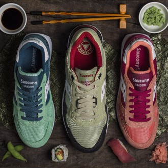 Saucony Originals dévoile son Sushi Pack !