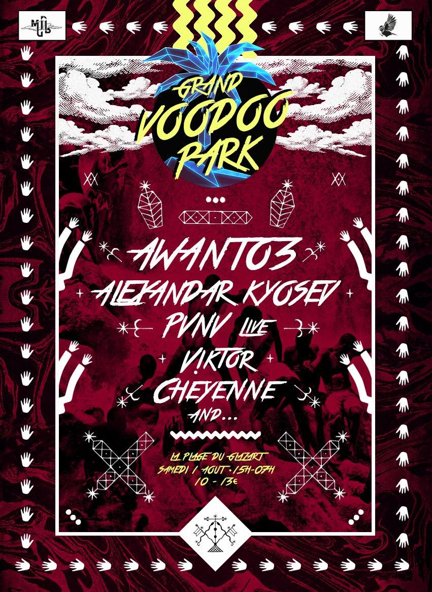 Gagnez vos places pour le Grand Voodoo Park à la Plage du Glazart !
