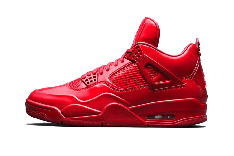 "Le Jumpman voit rouge avec la Air Jordan 11Lab4 ""University Red"""
