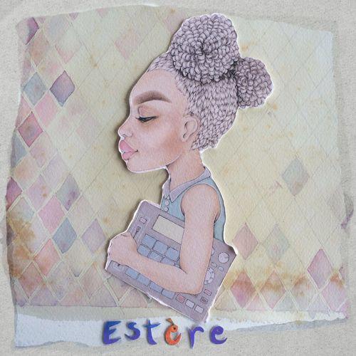 Estère (et Lola!), la machine et la voix