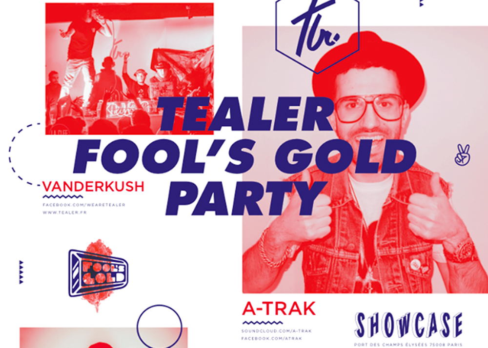 Gagnez 3×2 places pour la soirée Tealer Fool's Gold Party !
