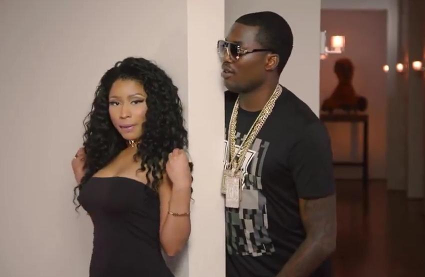 Meek Mill dévoile son clip avec Nicki Minaj et Chris Brown