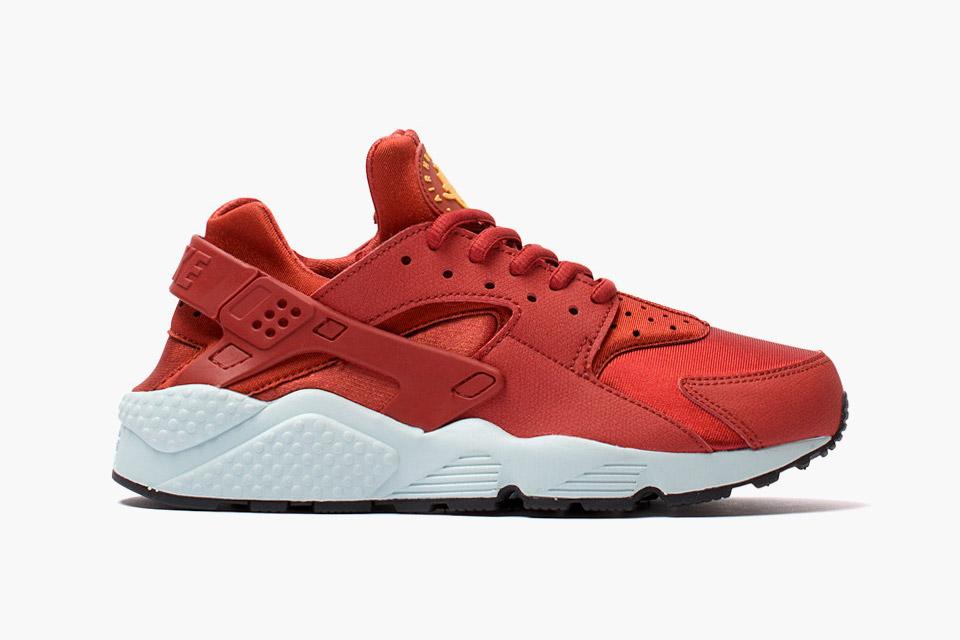 Nike Huarache Rouge Blanc