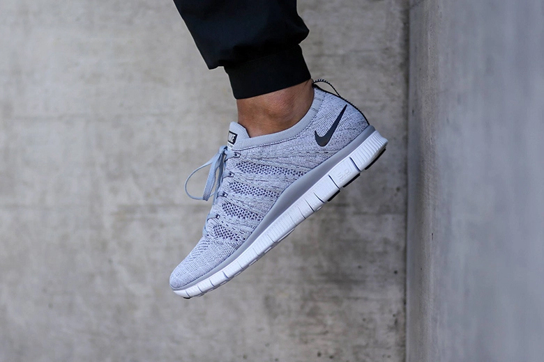 Aperçu de la nouvelle Nike Free Flyknit NSW «Wolf Grey»