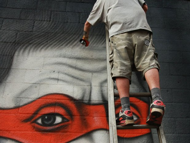 Sunday's Street Art #1 : Owen Dippie