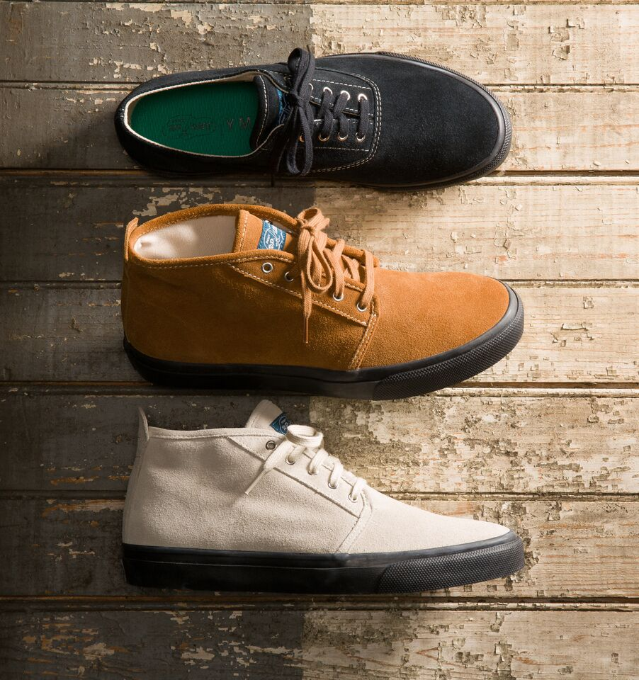 Sperry s'associe au label YMC pour une collab' moderne et contemporaine