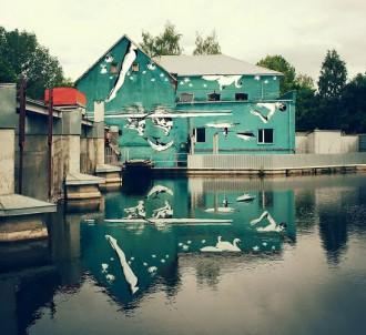 Ray Bartkus : peinture sur l'eau