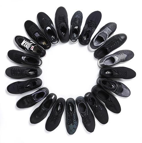 dontgounnoticed foot locker black sneakers